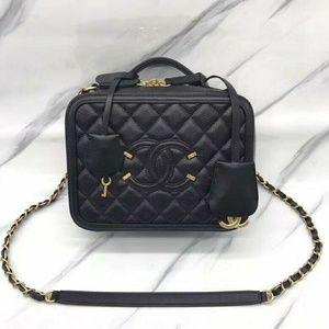 Chanel Vanity Bag New Check Description